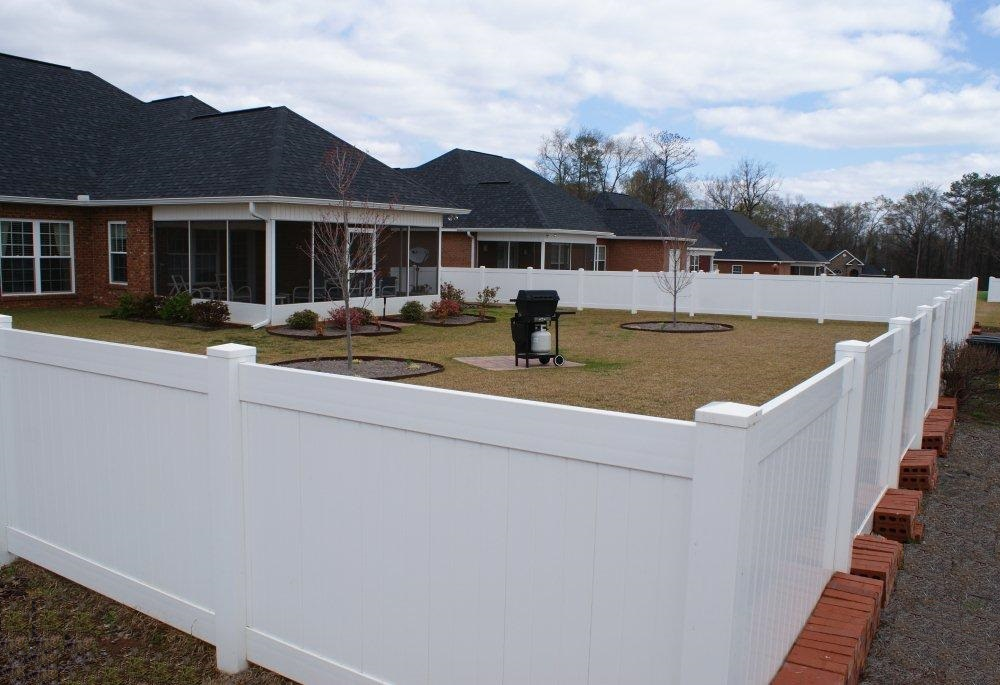 Fences Southern Structures Fences And Decks